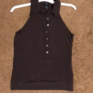 H&M Halter Button Down Top size Small